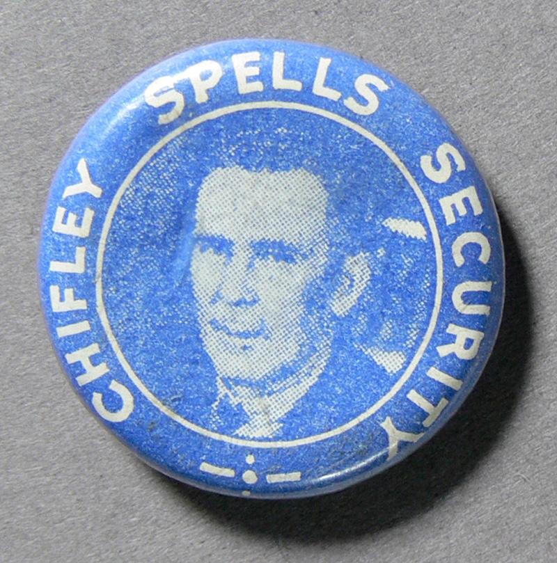 Chifley Spells Security' Badge