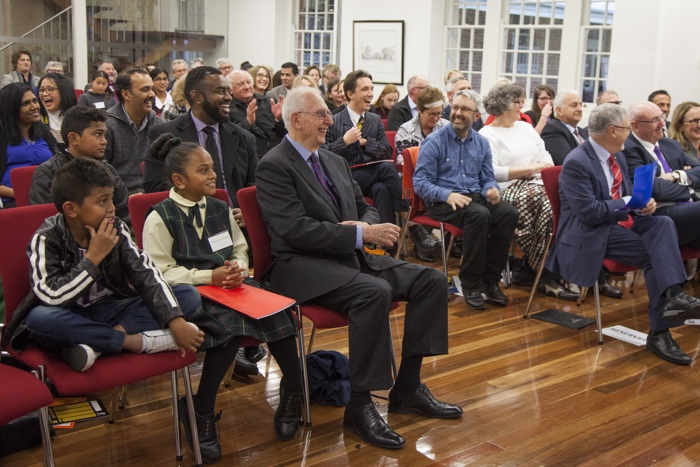 Audience members at the What Matters awards ceremony