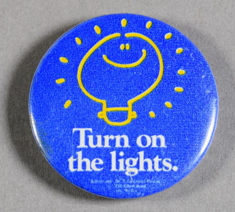 Turn on the Lights Badge