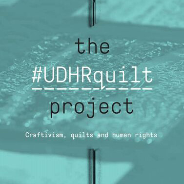 The #UDHRquilt Project