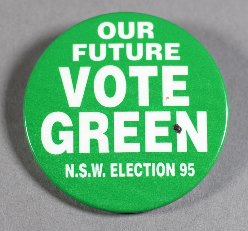 Greens Election Campaign Badge