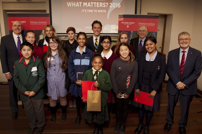 What Matters 2016 finalists and special guests