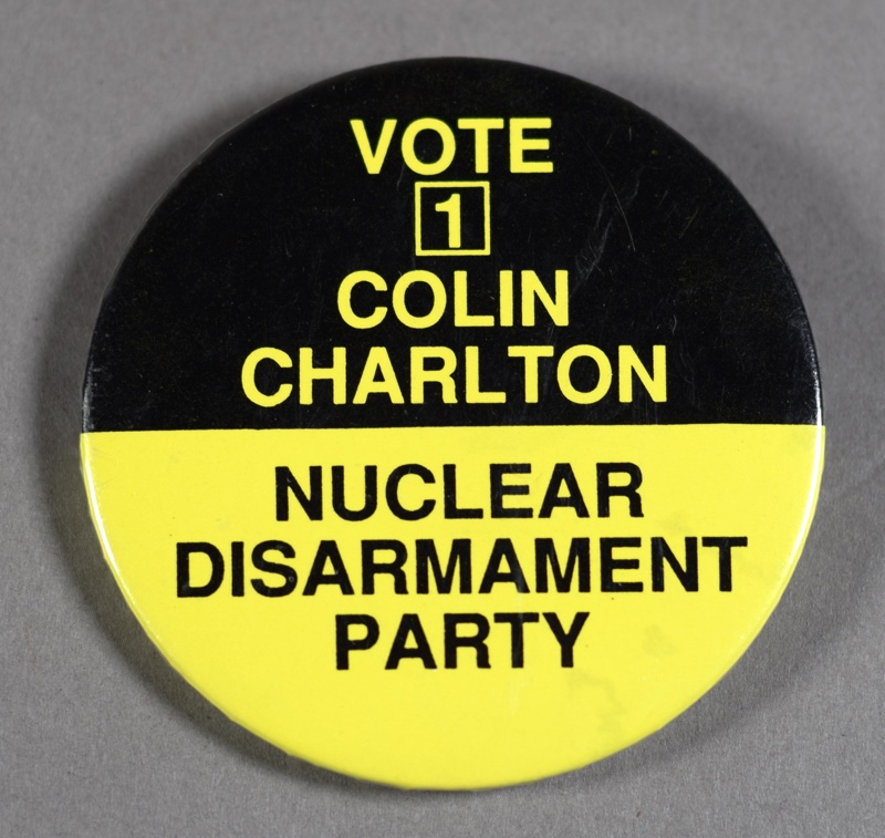 NDP Campaign Badge